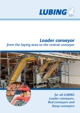 Loader conveyor